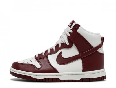"Best Replica Nike Dunk High ""Sail Team Red"" Shoes"