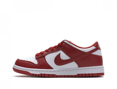 "Best Replica Nike Dunk Low ""University Red"""