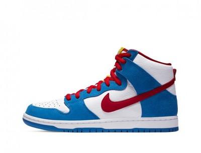 "Cheap Fake Nike SB Dunk High ""Doraemon"""