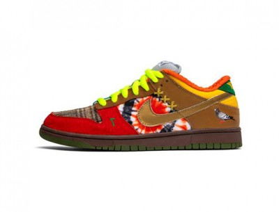 """Cheap Fake Nike SB Dunk Low """"What The Dunk"""""""