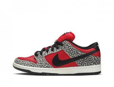 "Cheapest Fake Supreme Nike Dunk SB Low ""Red Cement"""