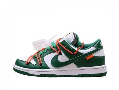 """Fake Off-White Nike Dunk Low """"Pine Green"""""""