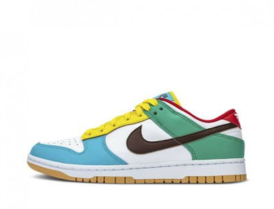 "Best Replica Dunk Low SE ""Free 99-White"""
