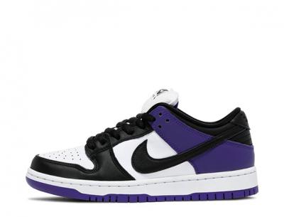 "Replica Nike SB Dunk Low ""Court Purple"" on Feet"