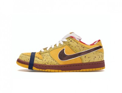 """Best Replica Nike Dunk SB Low """"Yellow Lobster"""" Shoes"""