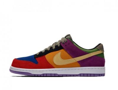 """First-class Copy Shoes Nike Dunk Low """"Viotech"""""""