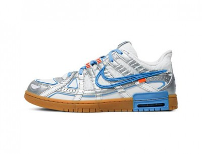 Fake Nike Air Rubber Dunk Off-White UNC