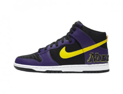 "Fake Nike Dunk High EMB ""Lakers"""