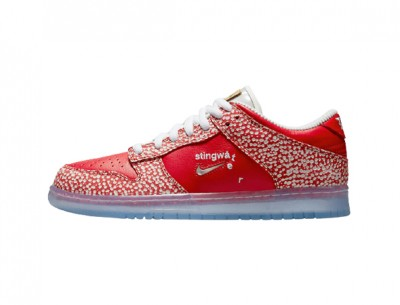 "Fake Pair of Stingwater x Nike SB Dunk Low ""Magic Mushroom"""