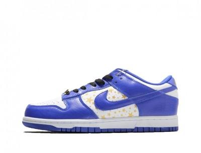 "Fake Supreme x Nike SB Dunk Low ""Blue Star"""