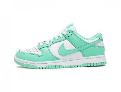 """Fake Womens Nike Dunk Low """"Green Glow"""" Shoes"""