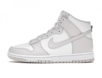 "Cheap Replica Nike Dunk High Retro ""White Vast Grey"" (2021)"